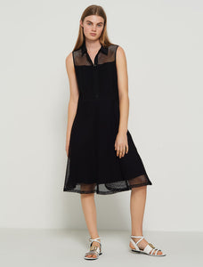 Marella Shirt Dress Elodia Black SS20