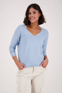 Monari Sparkle Rib Sweater