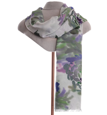 Zelly Floral Scarf - 499708 - Green SS20