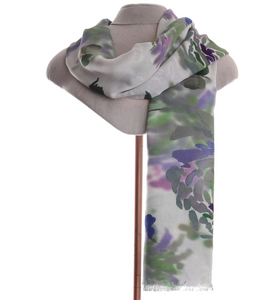 Zelly Floral Scarf - 499708 - Green