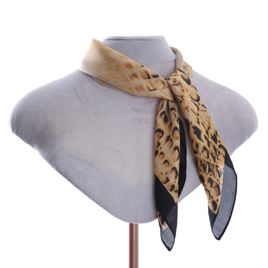 Zelly Square Scarf - 507713 - Gold