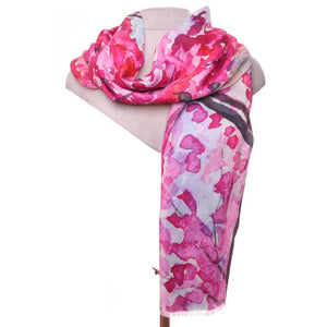 Zelly Blossom Scarf - 530309 - Pink SS20