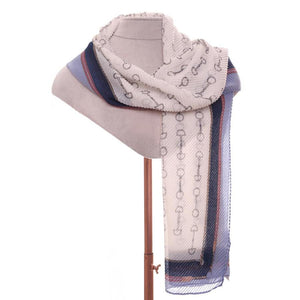 Zelly Stirrup Scarf - 531202 - Blue