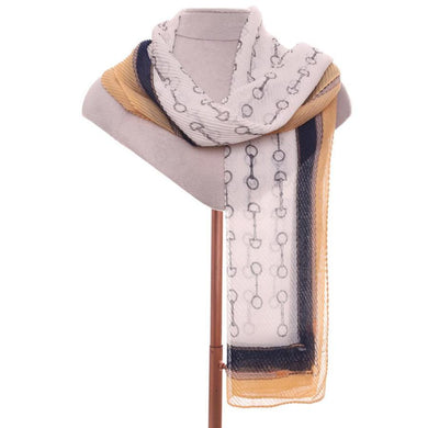 Zelly Stirrup Scarf - 531213 - Yellow