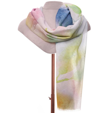 Zelly Abstract Floral Scarf - 537113 - Pastel SS20