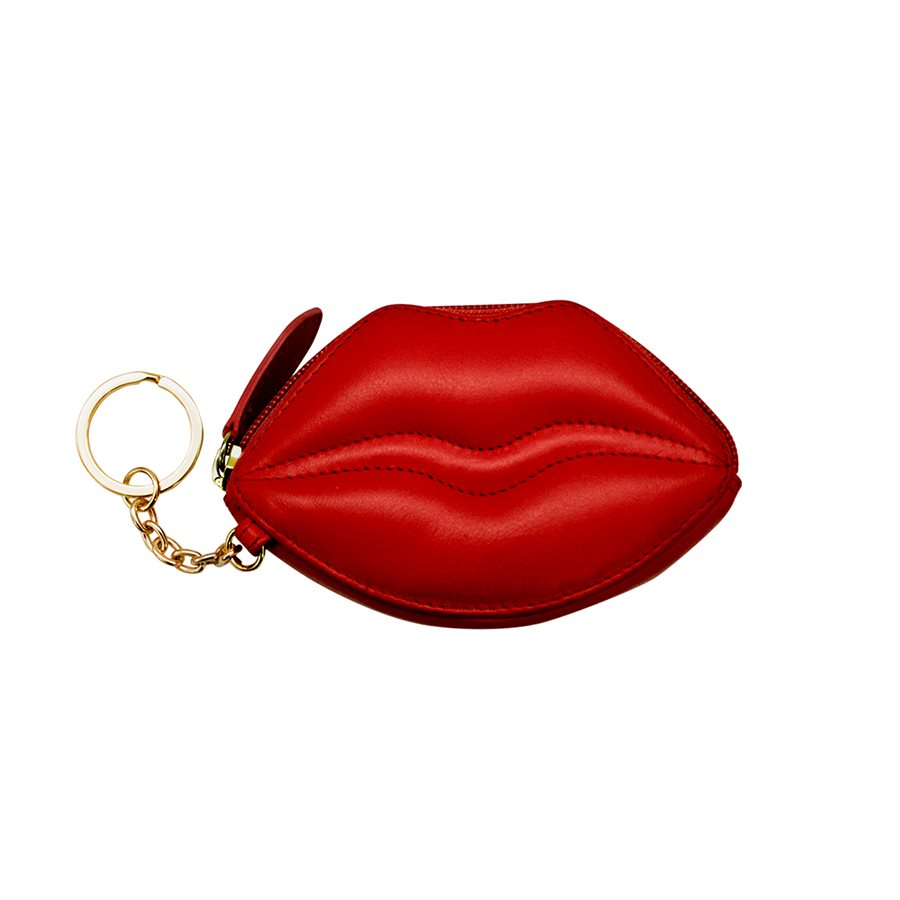 Jewn Lips Coin Purse - AP6449 - Red