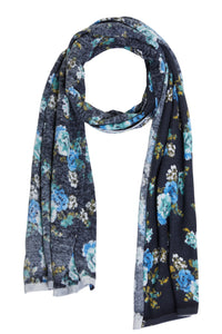 Oui Floral Scarf 70523