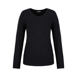 Dolcezza Charcoal Round Neck T-Shirt
