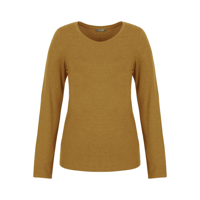 Dolcezza Mustard Long Sleeve T-Shirt