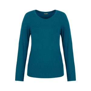 Dolcezza Turquoise Round Neck T-Shirt