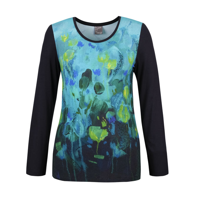 Dolcezza Floral Abstract T-Shirt 70630