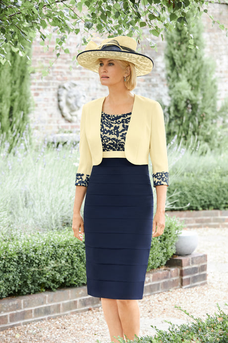 Condici Lemon & Navy Outfit