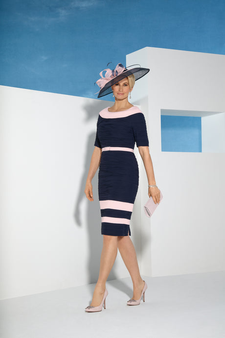 Condici Navy & Pink Dress