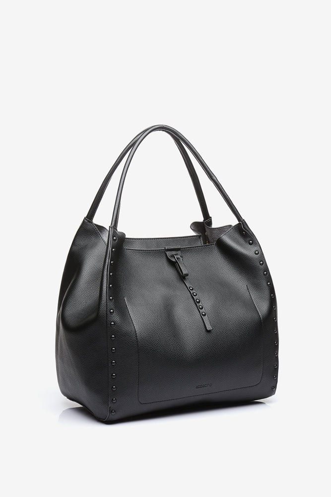 Abbacino Medium Black Hobo Bag
