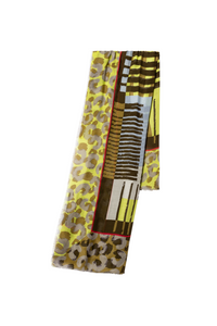 Luisa Cerano Scarf - Olive - 818633/9273 - SS20