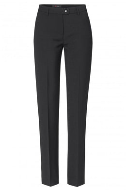 Toni Stretch Slim Black Trousers