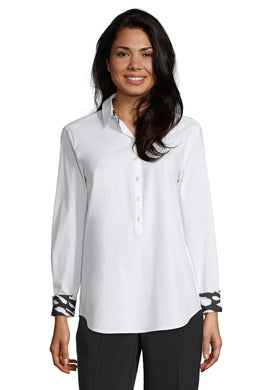 Betty Barclay Shirt - White - 8009/1071