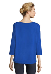 Betty Barclay T-Shirt - Royal Blue - 2007/1093 - SS20