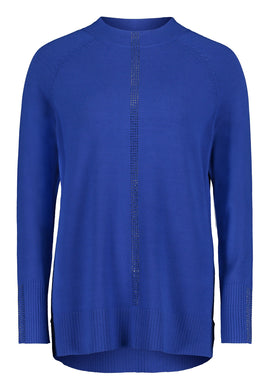 Betty Barclay Knitted Sweater - Royal Blue - 5008/1151