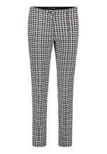 Betty Barclay Dog Tooth Trousers - Black/White - 6003/1075