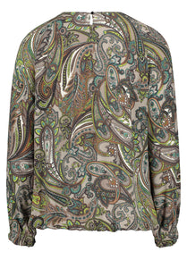 Betty Barclay Paisley Print Blouse