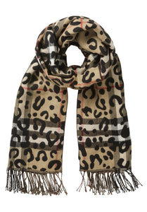 Betty Barclay Animal Print Scarf