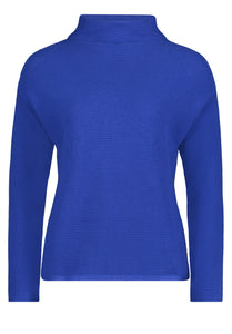 Betty Barclay Royal Blue High Neck Sweater