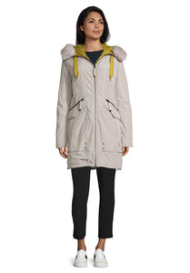 Betty Barclay Stone Hooded Parka