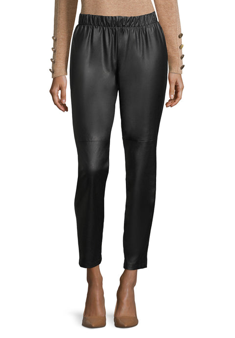 Betty Barclay Faux Leather Trousers