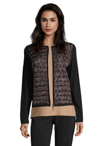 Betty Barclay Quilted Animal Print Jacket