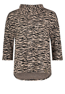 Betty Barclay Zebra Print Top 2335/1649