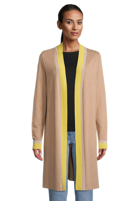 Betty Barclay Longline Camel Cardigan