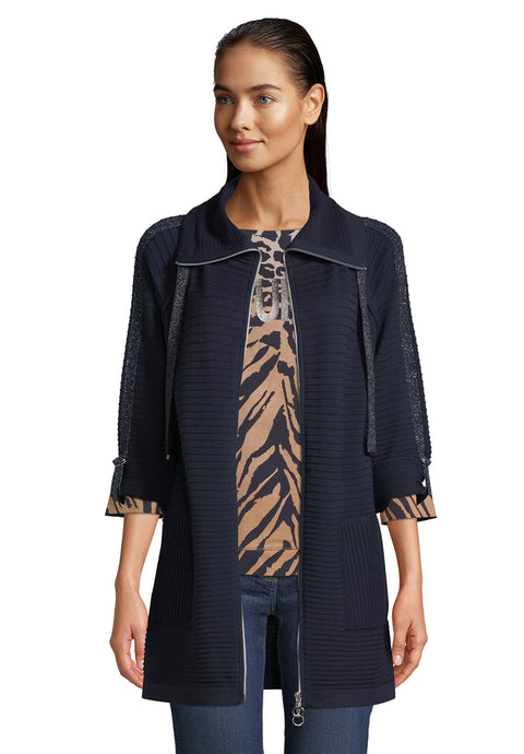 Betty Barclay Navy Cardigan