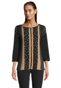 Betty Barclay Spot & Sparkle Tunic Top