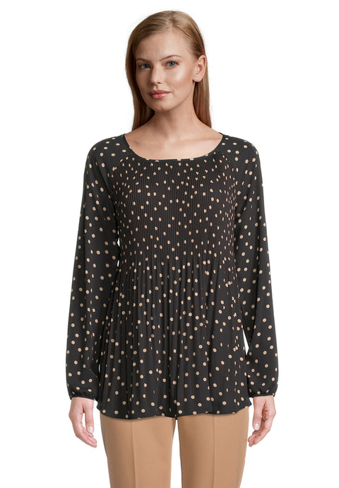 Betty Barclay Pinspot Plisse Blouse