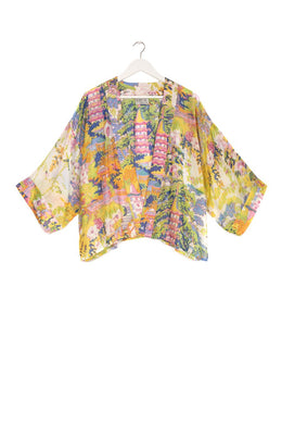 One Hundred Stars Kimono - China Tree - Pink/Yellow