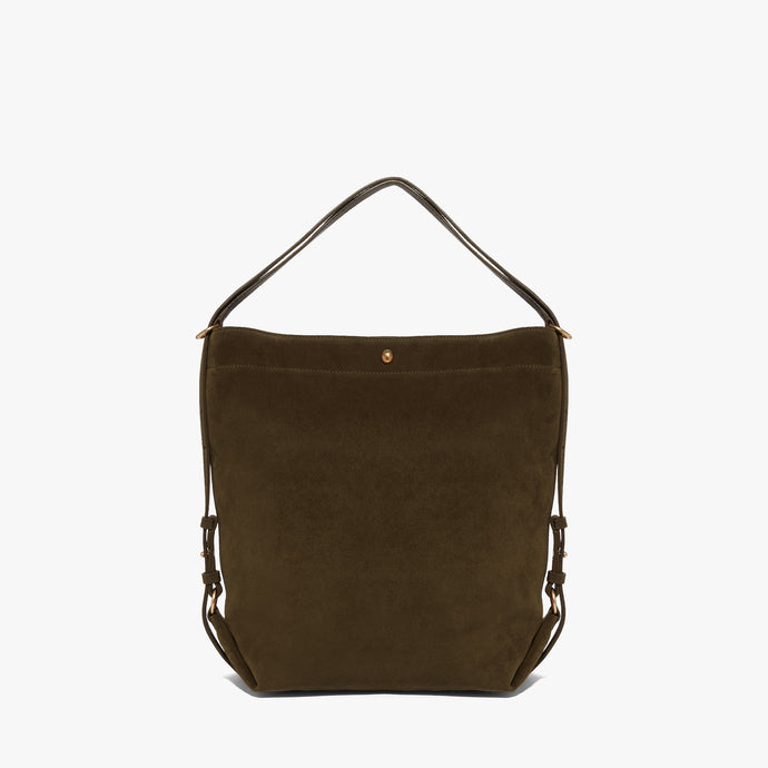 Coccinelle Suede Multiway Reef Green Bag