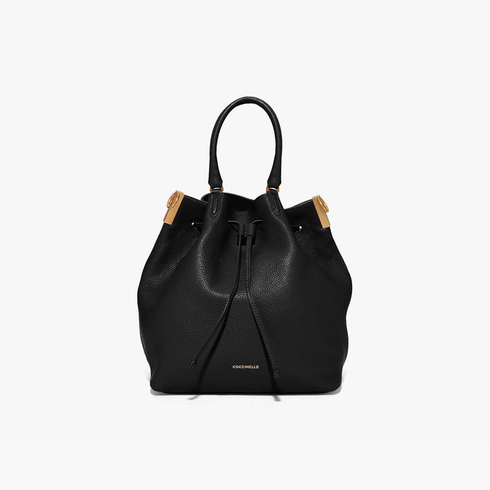 Coccinelle Gabrielle Bucket Shaped Leather Bag