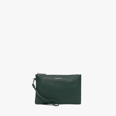 Coccinelle Mallard Green Medium Soft Pouch Bag