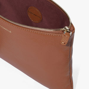 Coccinelle Caramel Leather Minibag