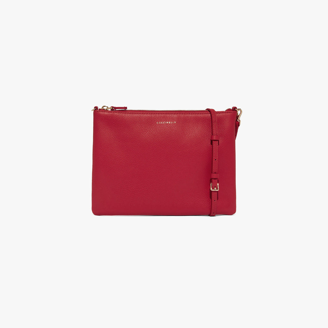Coccinelle Best Crossbody Deep Viloet Mini Bag