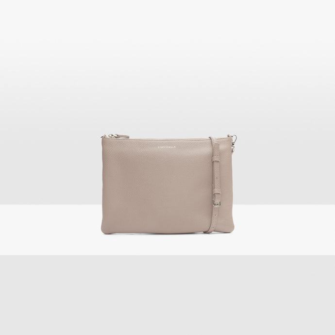 Coccinelle Powder Pink Crossbody Bag