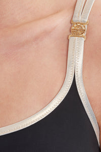 Feraud Swimsuit 3195014 BLACK/GOLD
