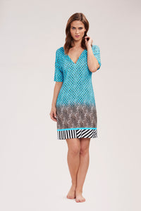 Feraud Jersey Dress 3195050 TURQUOISE