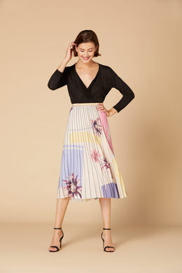 Derhy Pleated Skirt - Hammam - Rose/Nude - SS20
