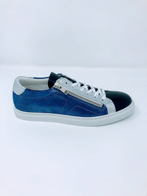 Pedro Costa Trainers - Lenna - Blue/Silver SS20