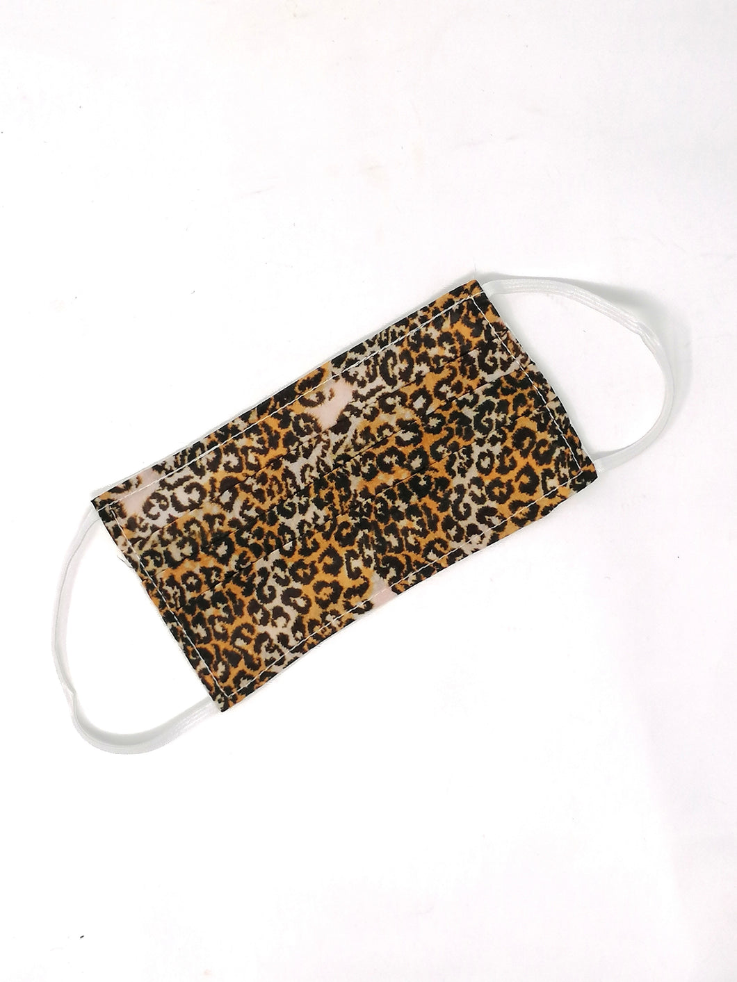 Ombre London Leopard Print Face Mask