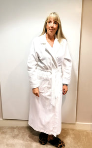 Feraud White Toweling Robe