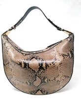 Coccinelle Python Print Leather Bag