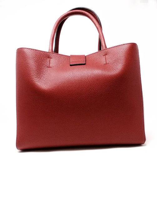 Coccinelle Alba Red Leather Bag